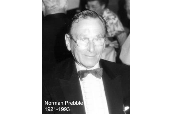 Founder, Norman Prebble, 1921 - 1993 one