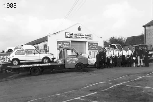 Silverlake's headquarters in Shedfield in 1988 six