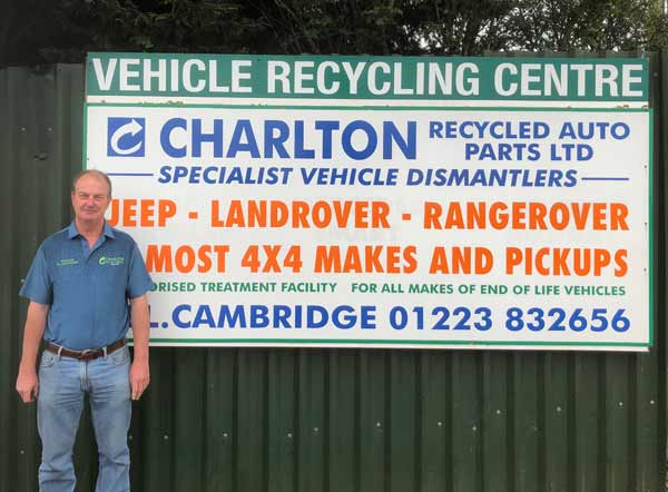 Charlton Recycled Autoparts - 50 years in business feat