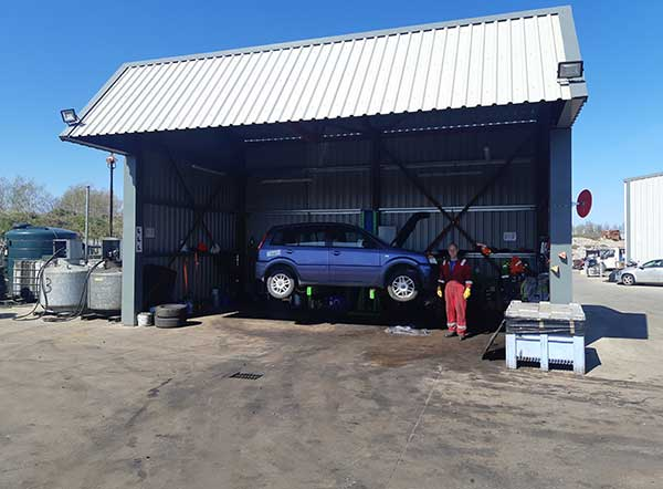 Efficiency at the core of DLH Auto Recyclers Ltd expansions DP bay