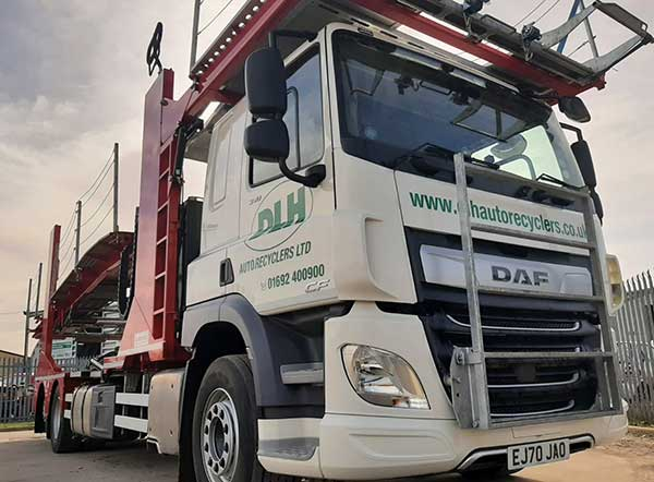 Efficiency at the core of DLH Auto Recyclers Ltd expansions new transporter