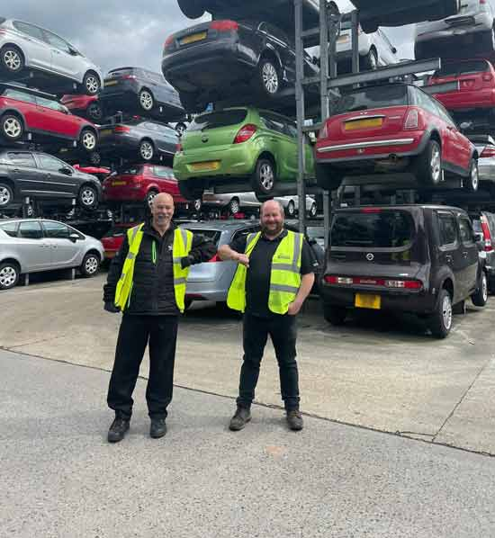 Ian Camilleri celebrates 23 years' service with Silverlake Automotive Recycling feat one