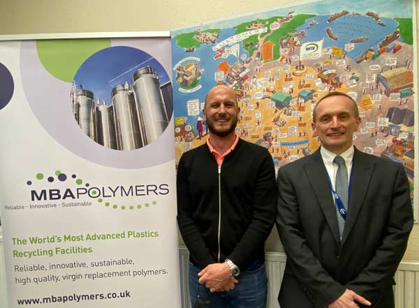 MBA Polymers UK announces the appointment of new leadership roles to facilitate its strategy and growing Plastics Recycling Business feat