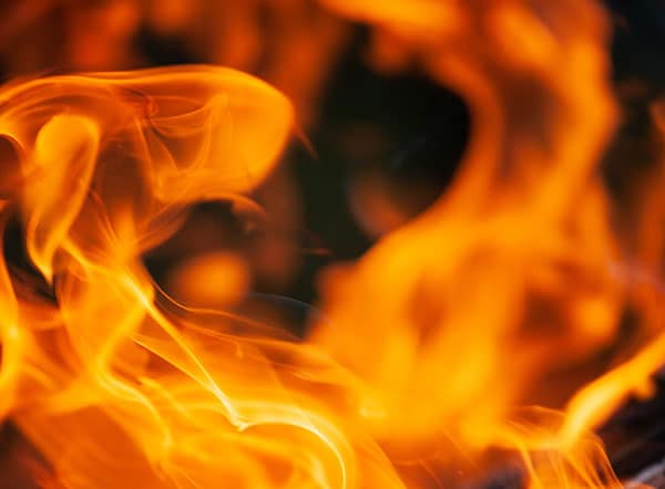 Recycling plant fire in Lewes, East Sussex feat