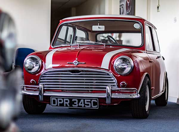 Collection of iconic British classics to go under the hammer with SYNETIQ Mini Cooper S