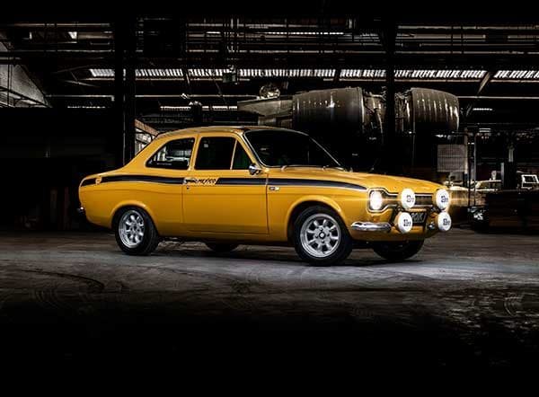 Collection of iconic British classics to go under the hammer with SYNETIQ Ford Mexico