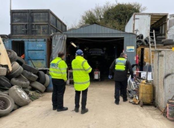 Environment Agency targets Croydon metal sites feat