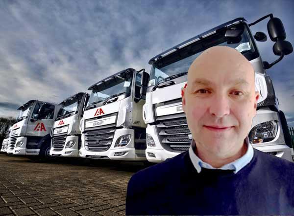 Mark Bishop Named IAA UK Transport Manager f