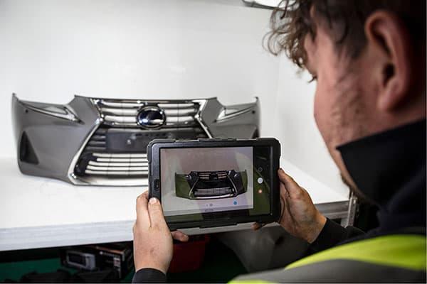 SYNETIQ - New digital platform automates green parts for car repair p two