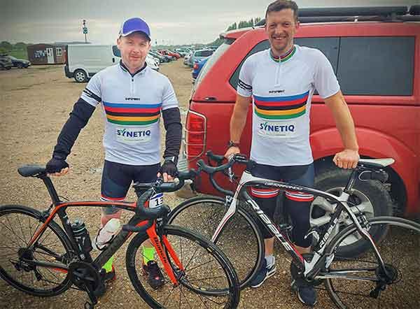 SYNETIQ saddle up for charity bike ride f