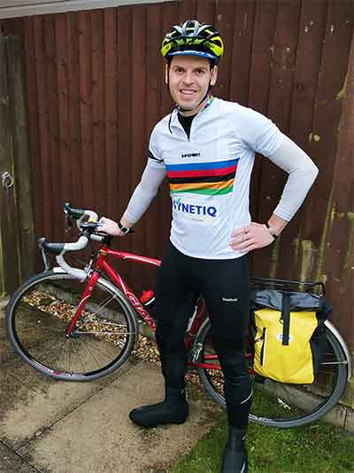 SYNETIQ saddle up for charity bike ride p two
