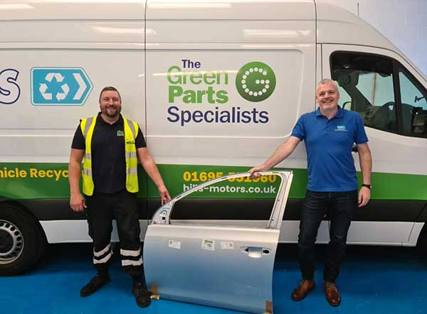 Cornerstone Technologies and The Green Parts Specialists team up to provide cost-efficient repair solutions for the Insurance Industry f