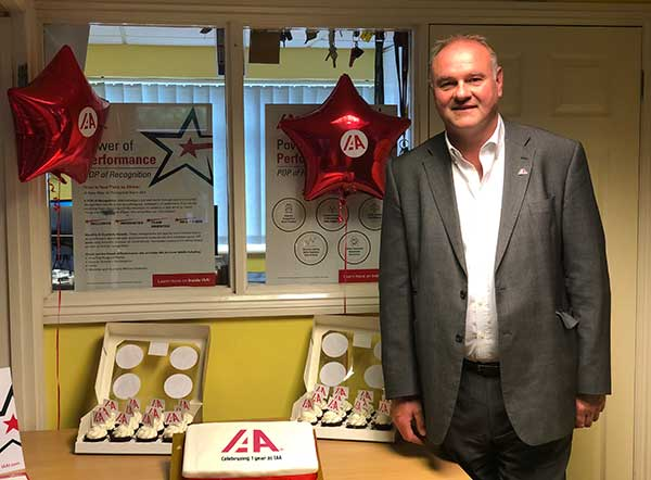 IAA celebrates first anniversary of UK rebrand f