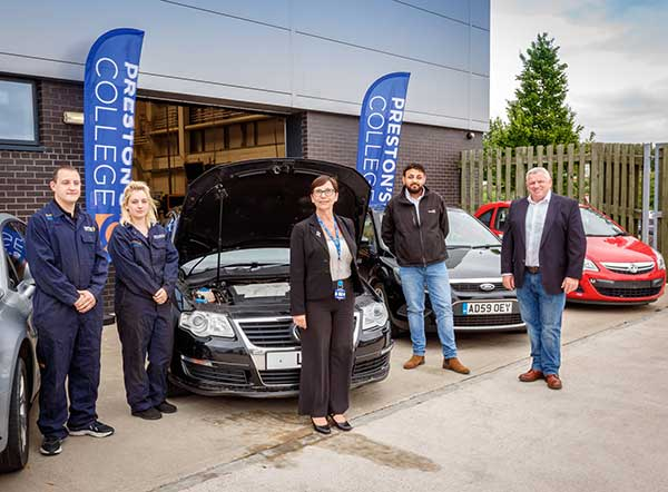 Recycling Lives gears up to supply cars for college automotive students to polish their skills