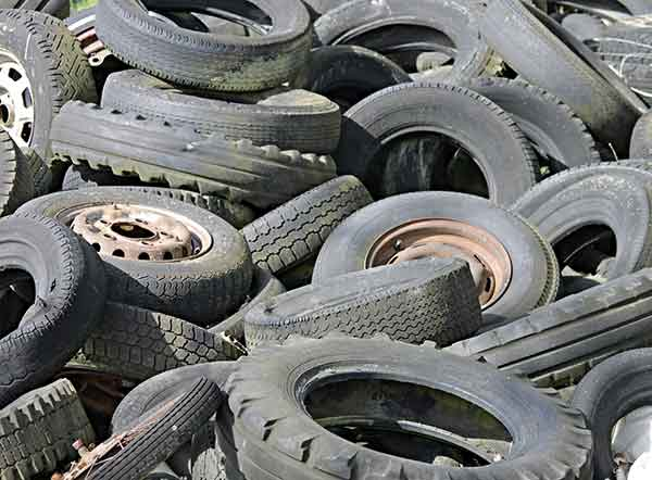 West Mercia Police launch tagging scheme to tackle fly-tipping of tyres