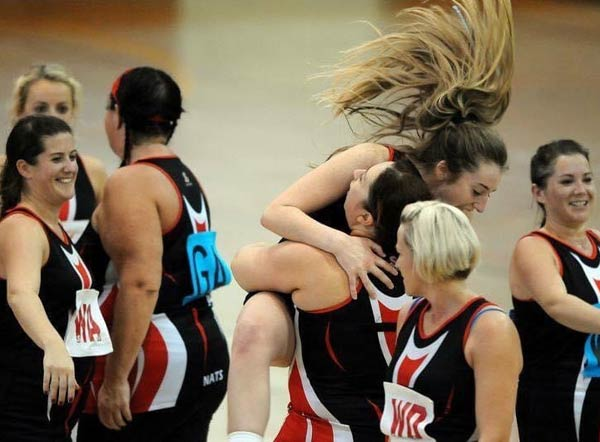 SYNETIQ helps local ladies' netball club get back on court feat