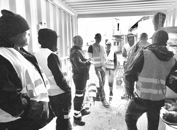 Copart UK's Surge Management Team Supports Severe Flooding in Germany team p