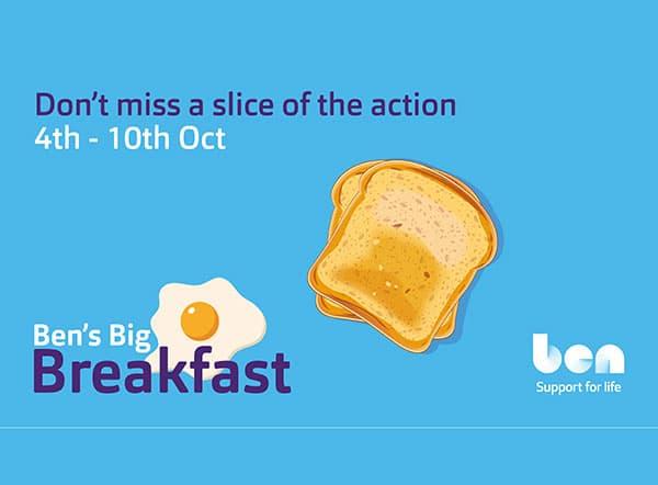 New Ben's Big Breakfast fundraiser to launch in October f