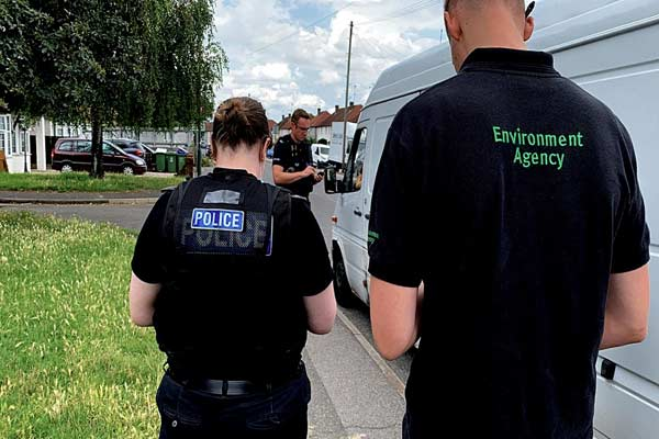 Waste vehicles seized at road stops in Kent in multi-agency operation p two