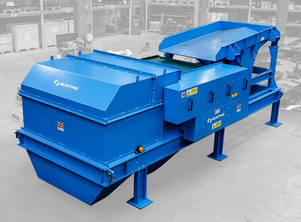 Bunting Magnetic Separators for CRS Overseas Recycling Project f