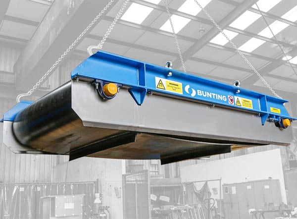 Bunting Magnetic Separators for CRS Overseas Recycling Project p