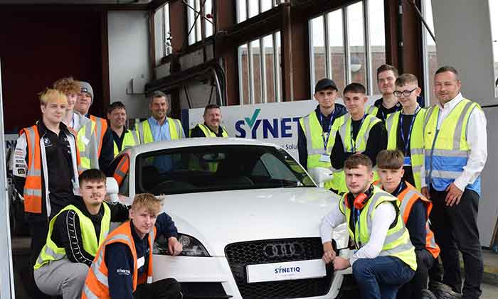 Doncaster apprentices shift up the gears with new career p