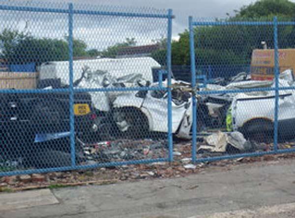 Environment Agency scraps illegal car breaking site f