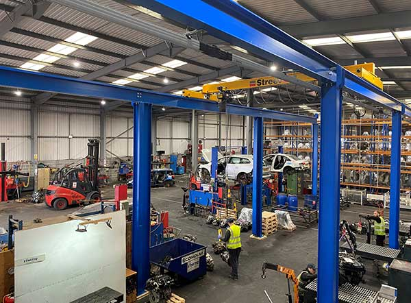 SYNETIQ electrifies engine handling process with new £60k investment f