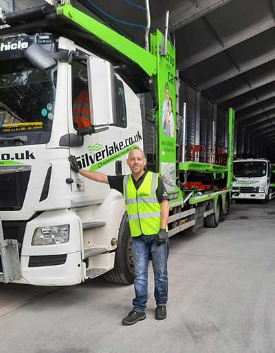 Silverlake's Logistics Manager celebrates 29 years' service p one