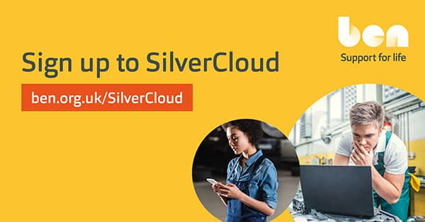 Ben launches new SilverCloud programmes for younger people p