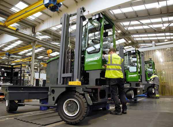 Launch of Combilift's new XLE forklift model f