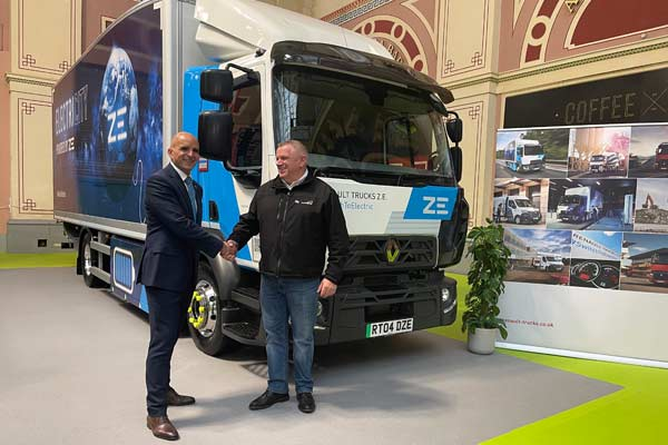 Recycling Lives to operate UK's first all-electric waste skip trucks p one